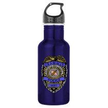 Grammar Police Dept Badge Pencil Eraser Water Bottle