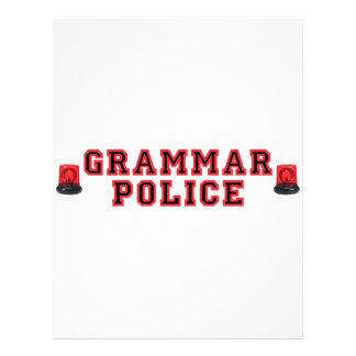 Grammar Police Flyer