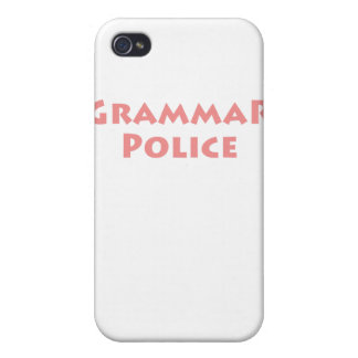 Grammar Police iPhone 4 Covers