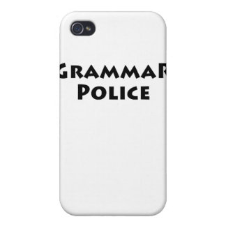 Grammar Police Case For iPhone 4