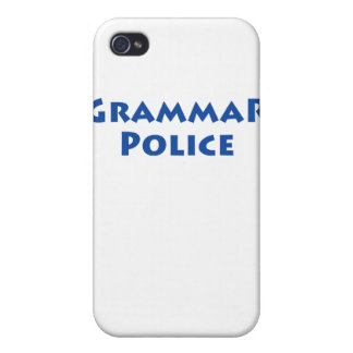 Grammar Police iPhone 4 Cover