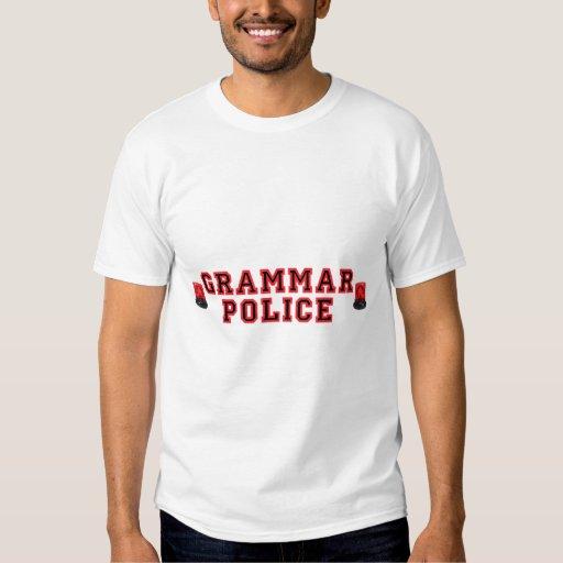Grammar Police T Shirt