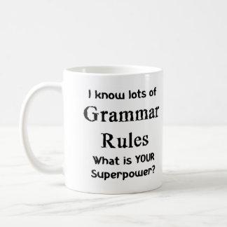 grammar rules coffee mug