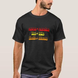 Grammar Rules T-Shirt