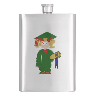 Grammar School Graduate Hip Flask