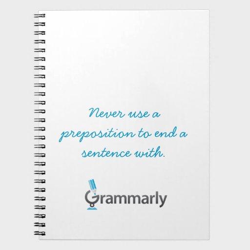 Grammarly Notebook