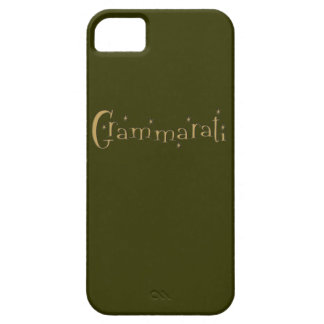 Grammaratti iPhone 5 Cover
