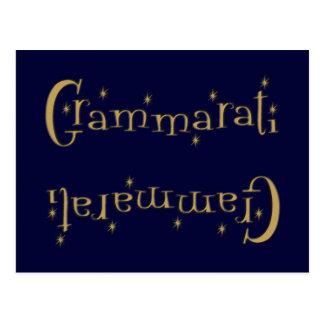 Grammaratti Postcard