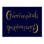 Grammaratti Tarjeta Postal