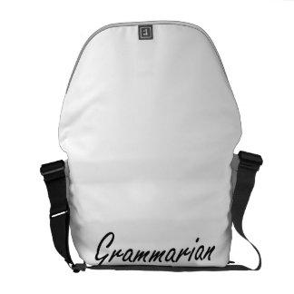 Grammarian Artistic Job Design Courier Bags