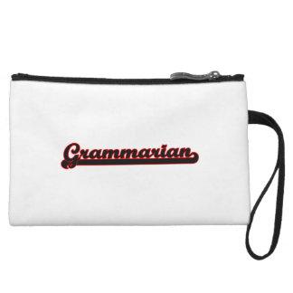 Grammarian Classic Job Design Wristlet Clutch