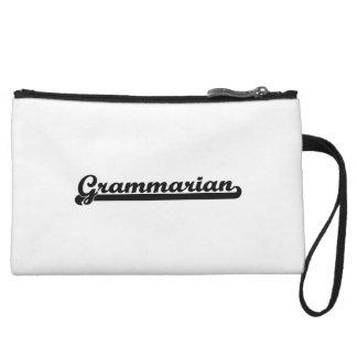 Grammarian Classic Job Design Wristlet