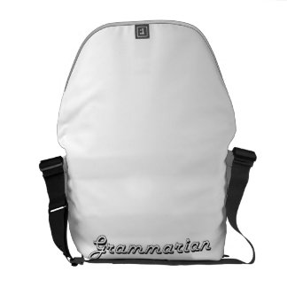 Grammarian Classic Job Design Courier Bag