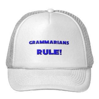 Grammarians Rule Trucker Hat
