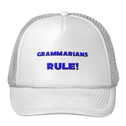 Grammarians Rule! Trucker Hat