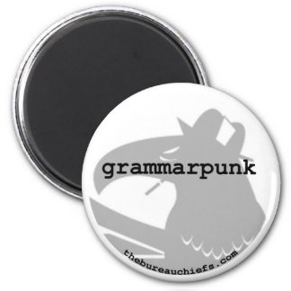 Grammarpunk Magnet