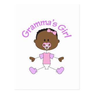 GRAMMAS GIRL POSTCARD