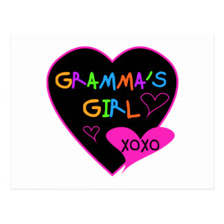 Gramma's Girl Tshirts, Mugs, Buttons, Cases, Hats Postcard