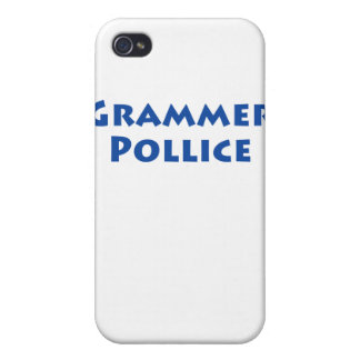 Grammer Pollice Covers For iPhone 4