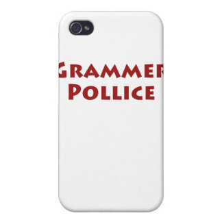 Grammer Pollice Cover For iPhone 4