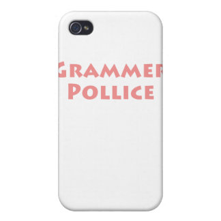 Grammer Pollice iPhone 4 Cover