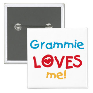 Grammie Loves Me T-shirts and Gifts Buttons