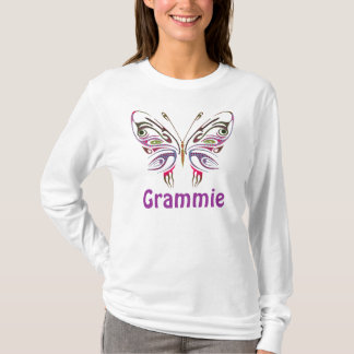 Grammie Personalized Butterfly T-Shirt