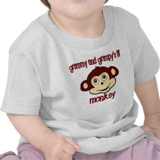 Grammy and Grampy's lil monkey T-shirt