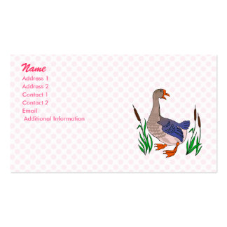 Grammy Goose Business Card Template