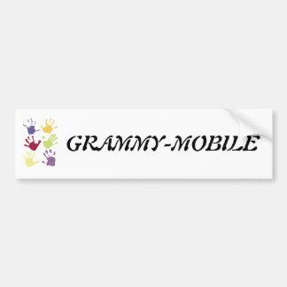 GRAMMY-MOBILE CAR BUMPER STICKER