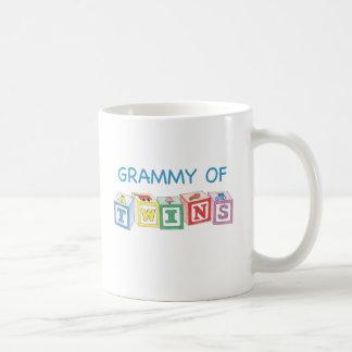 Grammy of Twins Blocks Coffee Mug