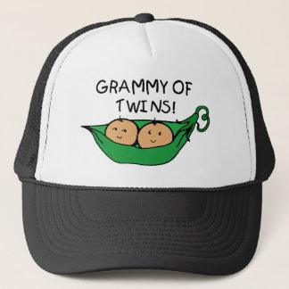 Grammy of Twins Pod Trucker Hat