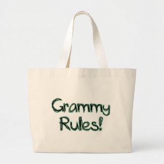 Grammy Rules Tote Bag