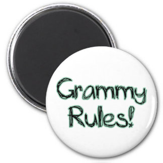 Grammy Rules Magnet