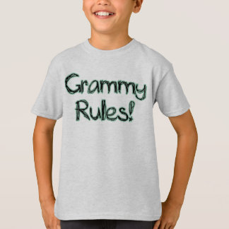 Grammy Rules T-Shirt
