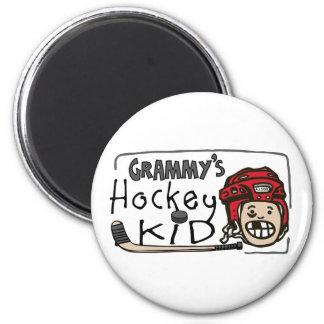 Grammy's Hockey Kid Magnet
