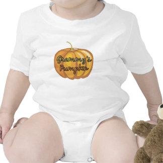 Grammy's Pumpkin Baby Bodysuit