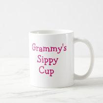 Grammy's sippy cup coffee mug