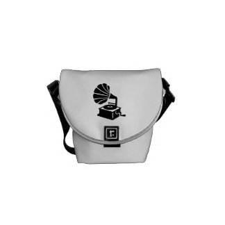 Gramophone Courier Bag