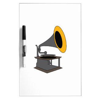 Gramophone Dry-Erase Board