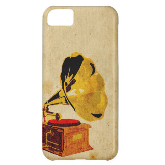 Gramophone Music Player iPhone 5C Case