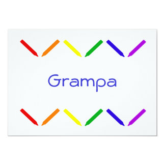 Grampa Card