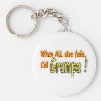 Grampa Keychain