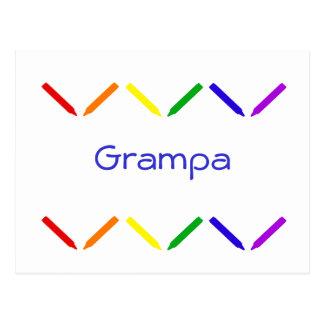 Grampa Postcard
