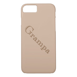 """Grampa"" Tough iPhone 7 case"
