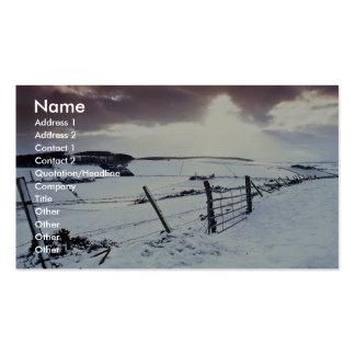 Grampian District, Scotland Business Card
