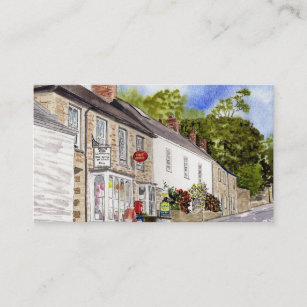 Post office business cards templates zazzle grampound post office business card colourmoves