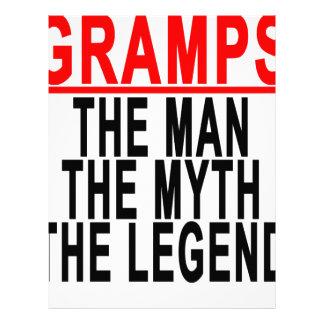 Gramps el hombre el mito la leyenda Tshirt.png Membrete