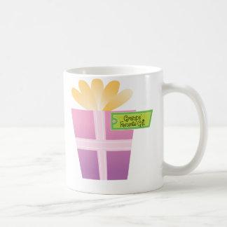 Gramps' Favorite Gift Classic White Coffee Mug