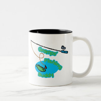Gramps' Fishing Buddy Two-Tone Coffee Mug